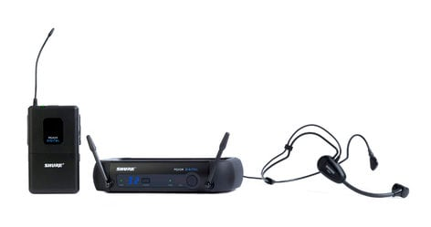 Shure PGXD14/PGA31 Headworn Wireless System with PGA31 Headset Microphone PGXD14/PGA31