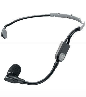 Shure SM35-XLR Performance Cardioid Condenser Headworn Microphone with XLR Connector SM35-XLR