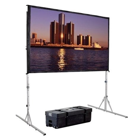 Da-Lite 88626 62 in. x108 in. Fast-Fold Complete Deluxe Truss (Rear Projection) Screen 88626