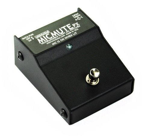 Whirlwind Micmute PX Programmable Active Microphone Muting Box MICMUTE-PX
