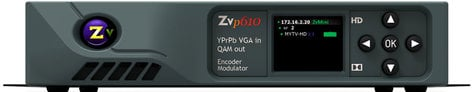 ZeeVee ZvPRO 610 Single Channel Component VGA In - QAM Out Encoder/Modulator ZVPRO-610-NA