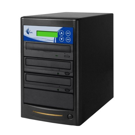 EZ Dupe GS02DVDB Gold Series 2 Copy DVD/CD 24x Duplicator GS02DVDB