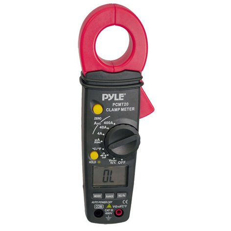 Pyle Pro PCMT20  Digital AC/DC Auto-Ranging Clamp Meter PCMT20