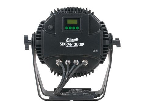 Elation Pro Lighting SIXPAR 300IP LED Par Fixture with 18x12W RGBAW+UV LEDs SIX-PAR-300-IP