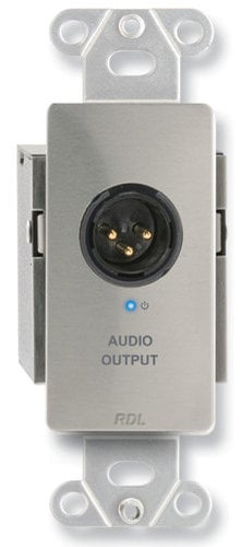 Radio Design Labs DS-TPR1A Active Single Pair Receiver - Twisted Pair Format-A - XLR Mic/Line Output DS-TPR1A