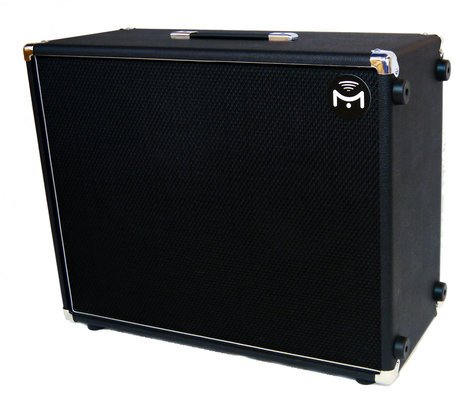 "Mission Engineering Inc GEMINI-2-BT 2x12"" 220W Full Range Flat Response Powered Electric Guitar Speaker Cabinet with Bluetooth GEMINI-2-BT"