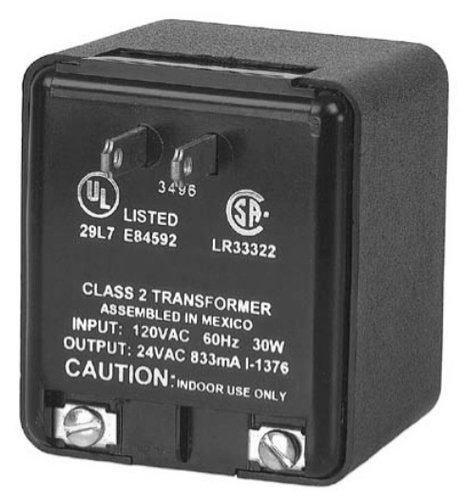 Interactive Technologies AC-CL2T-120P20  Plug-In AC Transformer AC-CL2T-120P20