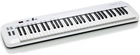 Samson Carbon 61 61 Note USB MIDI Controller with Komplete Elements CARBON-61