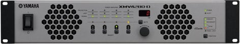 Yamaha XMV4280-D 4 Channel 70V/4 Ohm/8 Ohm Power Amplifier with Dante XMV4280-D