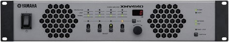 Yamaha XMV4140 4 Channel 70V/4 Ohm/8 Ohm Power Amplifier with YDIF XMV4140