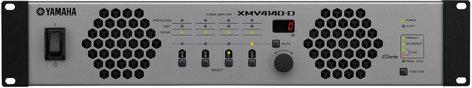 Yamaha XMV4140-D 4 Channel 70V/4 Ohm/8 Ohm Power Amplifier with Dante XMV4140-D