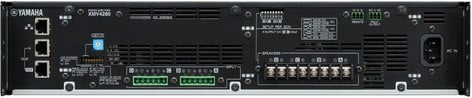 Yamaha XMV4280 4 Channel 70V/4 Ohm/8 Ohm Power Amplifier with YDIF XMV4280
