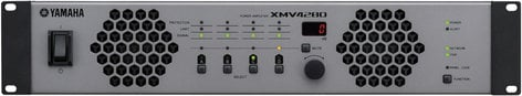 Yamaha XMV4280 4 Channel 70V/4 Ohm/8 Ohm Power Amplifier with YDIF XMV4280