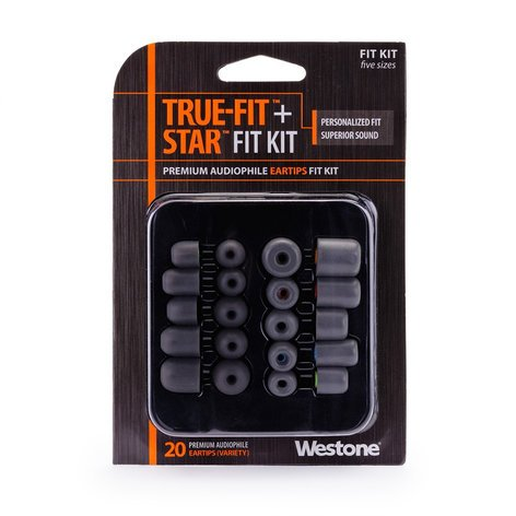 Westone 62810  20-Pack True Fit & Star Fit Eartip Kit 62810