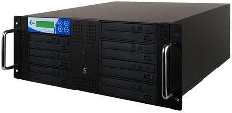 EZ Dupe RK7TDVDB 7-Target Studio Rackmount CD/DVD Duplicator RK7TDVDB