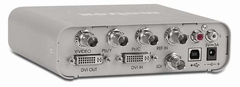 Matrox DVI-PLUS  HD-SDI Scan Converter with Genlock and Region-of-Interest Support DVI-PLUS