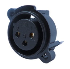 Yamaha V6127201  XLR Connector for EMX88S V6127201