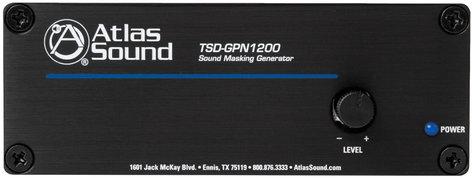 Atlas Sound GPN1200K TSD-GPN1200 Sound Masking Generator Kit with Power Supply and Rack Mount GPN1200K