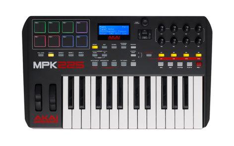 AKAI MPK 225 25-Key MIDI Controller MPK225