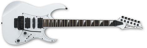 Ibanez RG450DXB White RG Series Electric Guitar with Edge Zero II Tremolo RG450DXBWH