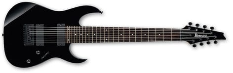 Ibanez RG8 Black RG Series 8-String Electric Guitar RG8-IBANEZ