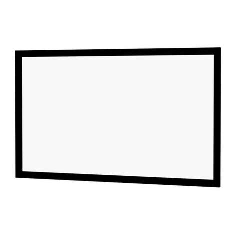 """Da-Lite 70337V Cinema Contour 16:10, 110"""" x176"""" Da-Mat Fixed Frame Screen 70337V"""