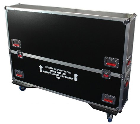 "Gator Cases G-TOURLCDV2-5055-X2 ATA LCD Case for Two 50-55"" Screens G-TOUR-LCDV2-5055-X2"