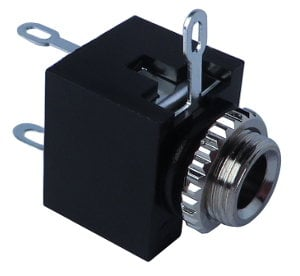 Pro Co 27-655 3.5mm Jack with Solder End for Control Plate 27-655