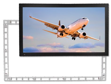 "Draper Shade and Screen 383485 StageScreen 150"" NTSC Matt White Portable Projection Screen 383485"