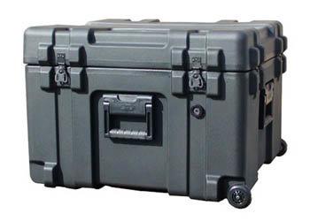 SKB Cases 3R2423-17B-CW Roto Mil-Std Waterproof Case with Foam and Wheels 3R2423-17B-CW