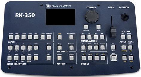 Analog Way RK-350 Remote Control Keypad for Seamless Switchers RK350