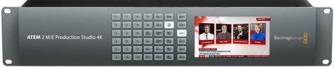 Blackmagic Design ATEM 2 M/E Production Studio 4K Live Production Switcher SWATEMPSW2ME4K