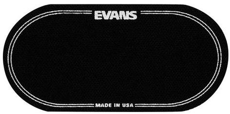 Evans EQPB2  Black Nylon Bass Drum Patch for Double Kick Pedals EQPB2