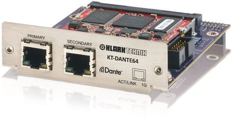 Klark Teknik KT-DANTE64  Dante Connectivity PCI Card KT-DANTE64