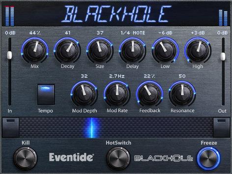 Eventide Black Hole Reverb Software Plug-In BLACK-HOLE-EVENTIDE