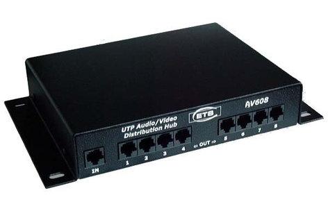 ETS ETS-AV608  8-Ch Audio/Video Distribution Hub ETS-AV608