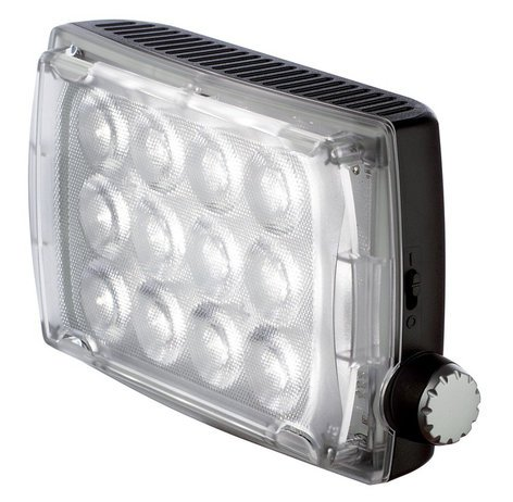 Manfrotto MLS500F Spectra 500F LED Light, 500lx@1m-CRI>90, 5000°K Flood with Dimmer MLS500F