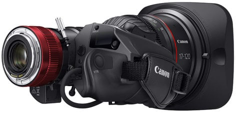 Canon 9785B001 CN7x17 KAS S Cine-Servo 17-120mm T2.95 Lens, EF Mount 9785B001