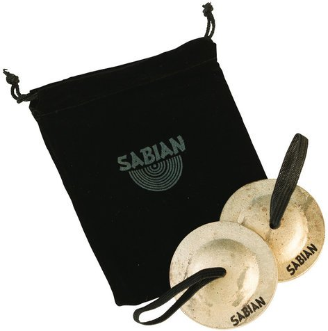Sabian 50102 1 Pair of Heavy Weight Finger Cymbals 50102