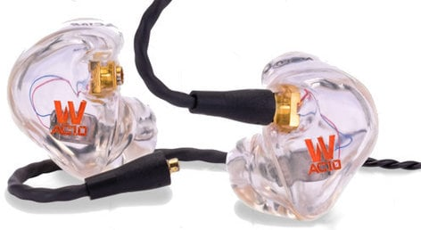 Westone AC10 Custom Fit Clear In Ear Monitor with Dual Balanced Armature Drivers AC10-WESTONE