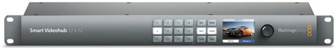Blackmagic Design VHUBSMART6G1212 Smart Videohub 12 x 12 VHUBSMART6G1212