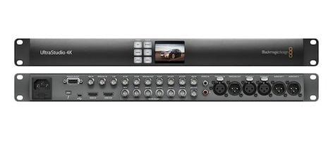 Blackmagic Design UltraStudio 4K 2 Thunderbolt 2 Capture/Playback Solution - Dual Link 6G-SDI, HDMI, Analog, 4:4:4, 3D, Ultra HD, and 4K ULTRASTUDIO-4K-2