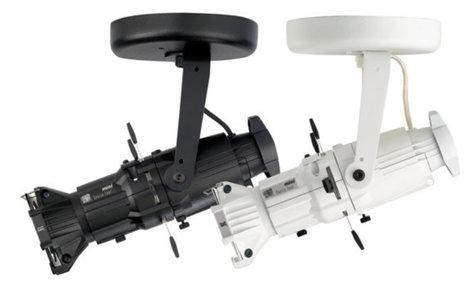 ETC/Elec Theatre Controls 4M19L-I Install Canopy Source Four Mini LED with 19° Field Angle in Black 4M19L-I
