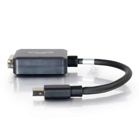 Cables To Go 54311 8in Mini DisplayPort Male to Single Link DVI-D Female Adapter Converter in Black 54311