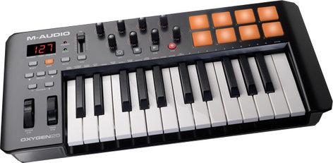 M-Audio Oxygen 25 USB MIDI Controller OXYGEN25-IV