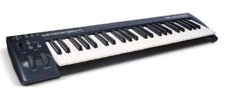 M-Audio Keystation 49 49-Key USB MIDI Controller KEYSTATION-49-II