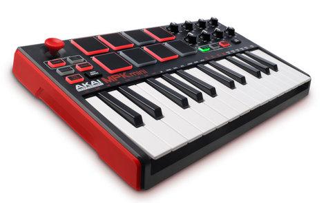 AKAI MPKMINI-II MPK Mini mkII 25-Key USB MIDI/Pad Controller MPKMINI-II