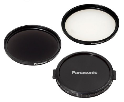 Panasonic VW-LF49N Filter Kit with Neutral Density Filter, Lens Protector and Cap VW-LF49N