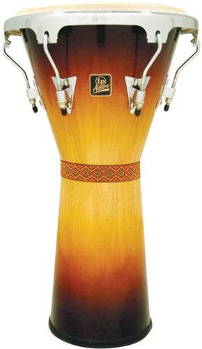 Latin Percussion LPA630-VSB Aspire Djembe in Vintage Sunburst LPA630-VSB