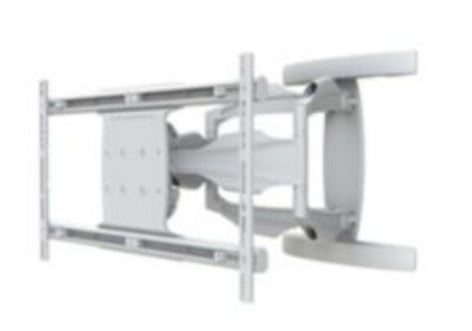 """Peerless SA771PU-AW  SmartMount Antimicrobial Articulating Wall Arm for 50""""-80"""" Displays in White SA771PU-AW"""
